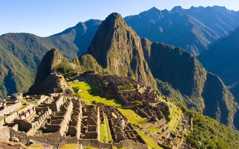 Magnificent engineering by ancient Inca architects - Machu Picchu